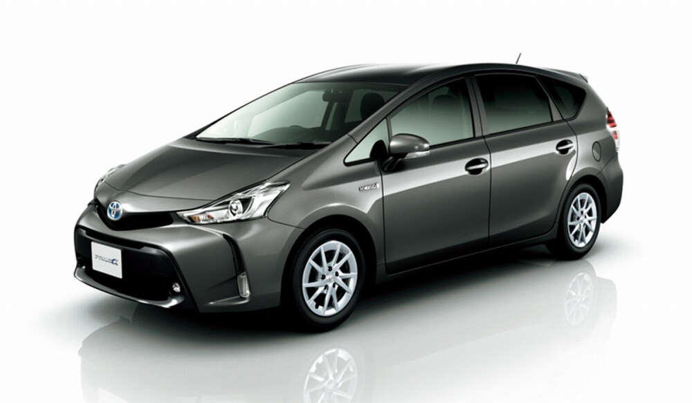 Luxury Car Lease >> Prius α(7-passenger model) | Car lineup / prices | Toyota ...