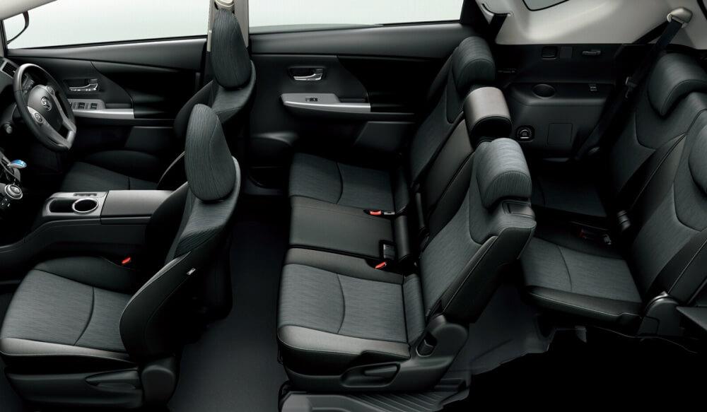 Prius 7 Passenger Model Car Lineup Prices Toyota