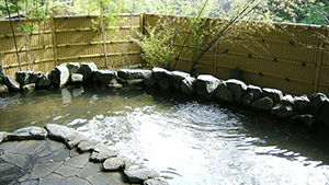 Ryujin hot springs wellhead
