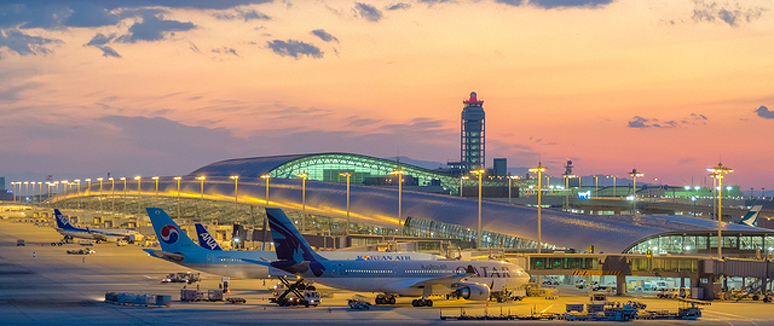 Kansai International Airport site