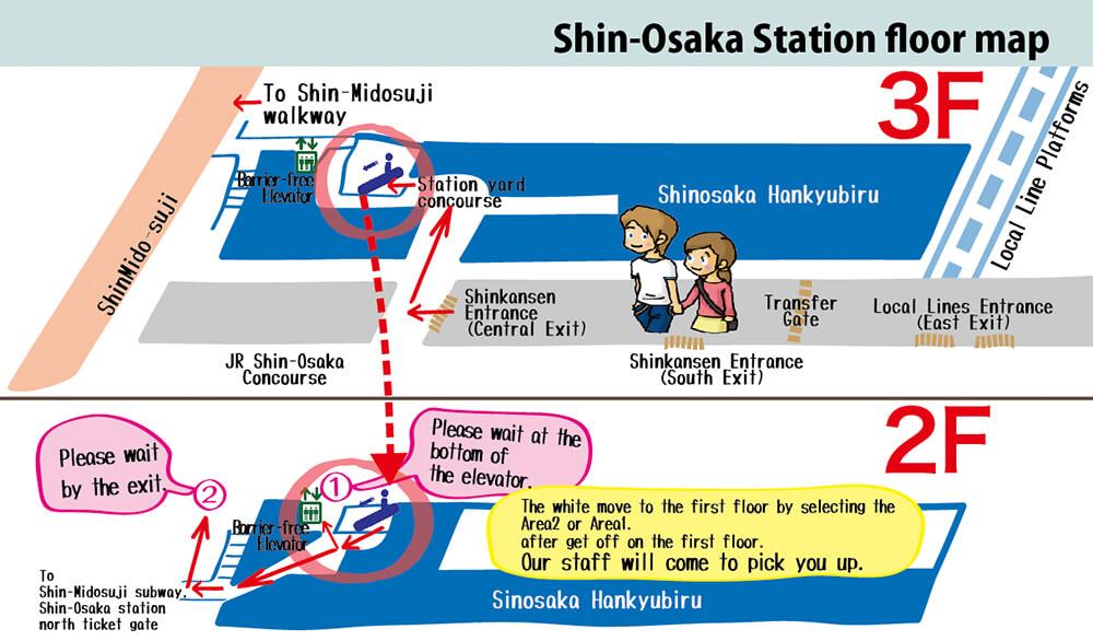 Shinosakastationfloormap Toyota Rental Amp Lease Shin Osaka